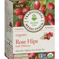 Organic Rose Hips with Hibiscus from Traditional Medicinals