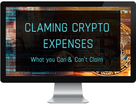 claiming cryptocurrency losses on taxes