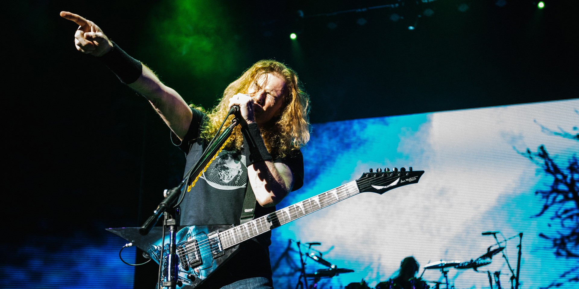 Megadeth made their third visit to Singapore count — photo gallery