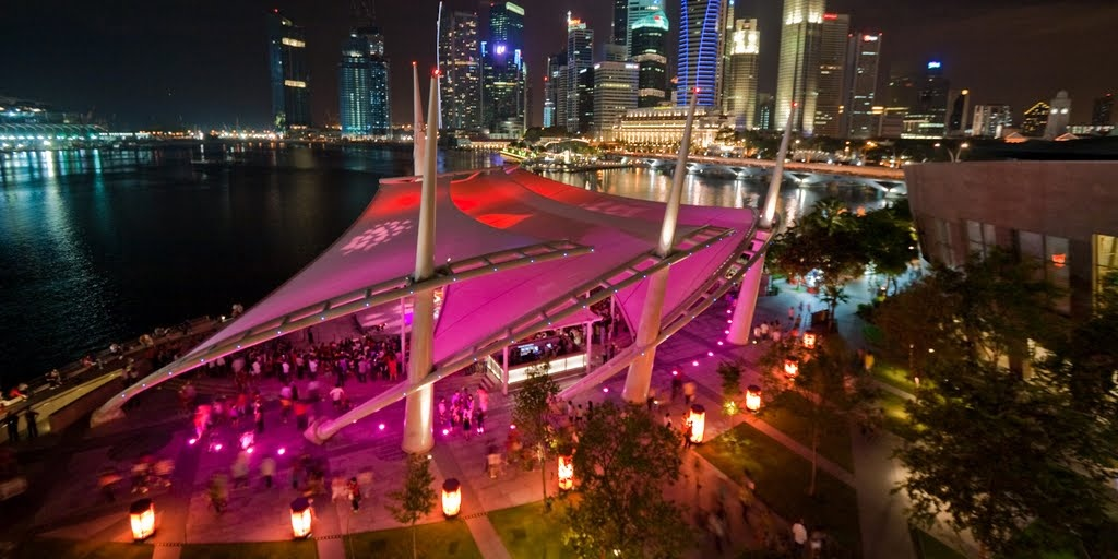 Esplanade Outdoor Theatre will be turned into a dancefloor for one night only