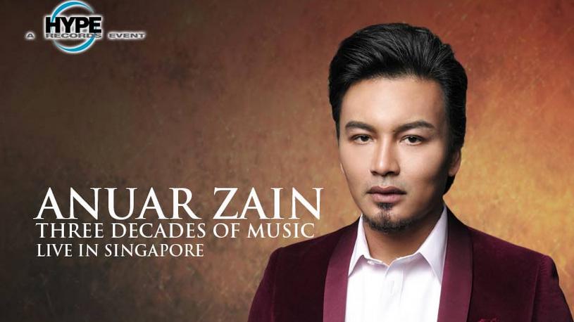ANUAR ZAIN THREE DECADES OF MUSIC LIVE in Singapore 2015