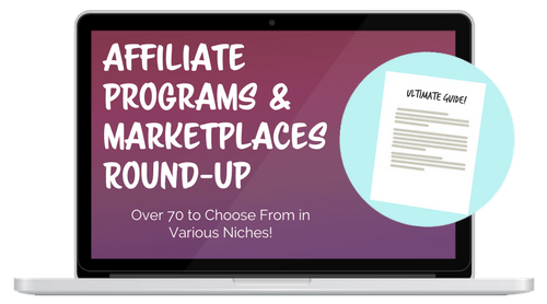 affiliate programs and marketplaces