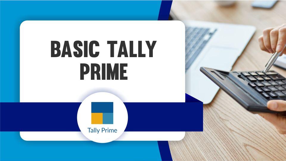 Basic Tally Prime