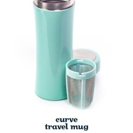 Curve Travel Mug (Mint, 355mL/12oz) from DAVIDsTEA