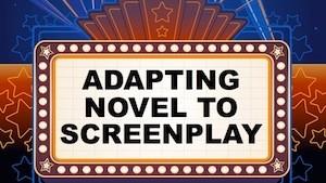 Adapting Novel to Screenplay Logo