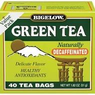 Green Tea Decaf from Bigelow