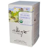 Organic Relaxing Chamomile from Allegro Tea