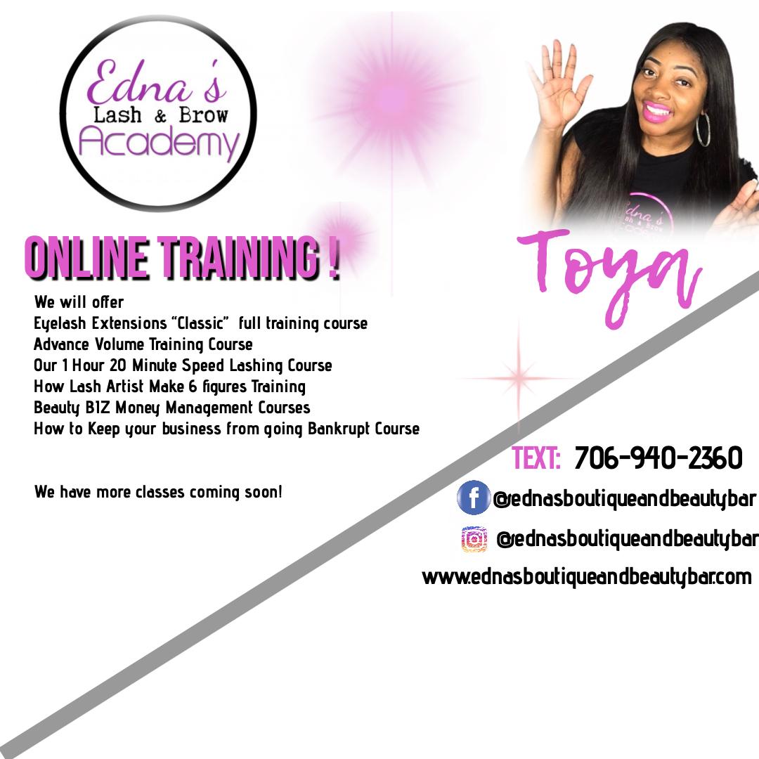Eyelash Extention Training online