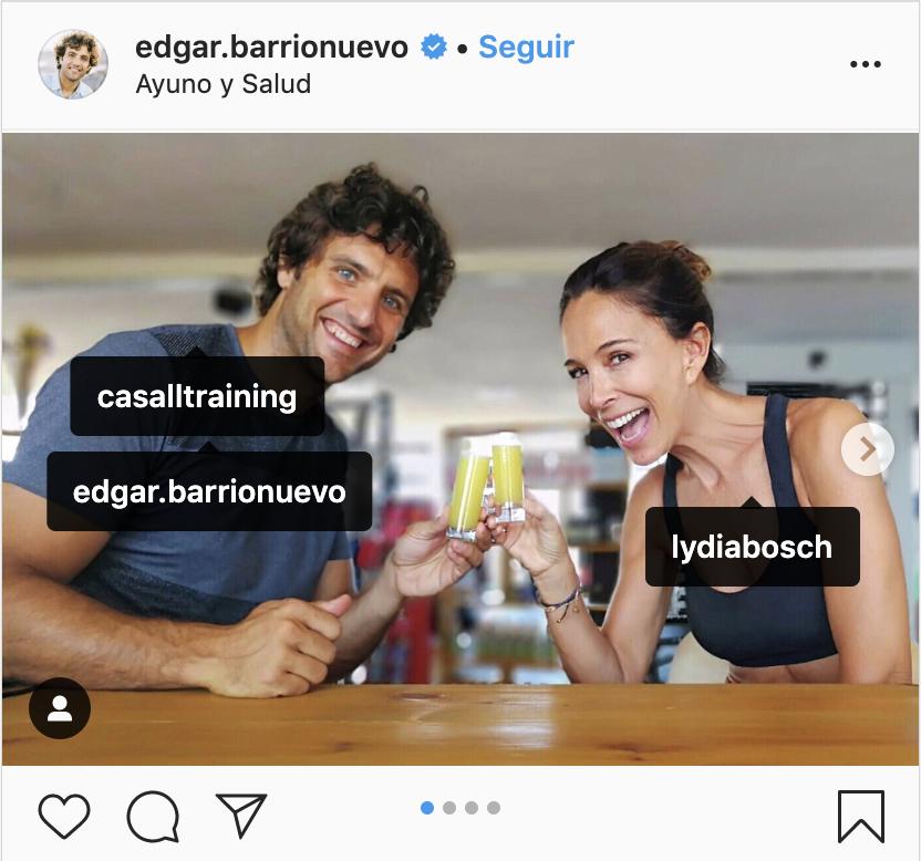 Lydia Bosch con Edgar Barrionuevo ayuno intermitente