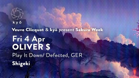 Veuve Clicquot & Kyo present Sakura Week feat. OLIVER $