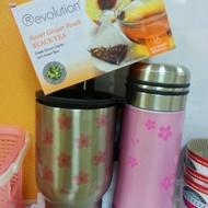 Sweet Ginger Peach Black Tea from Revolution Tea
