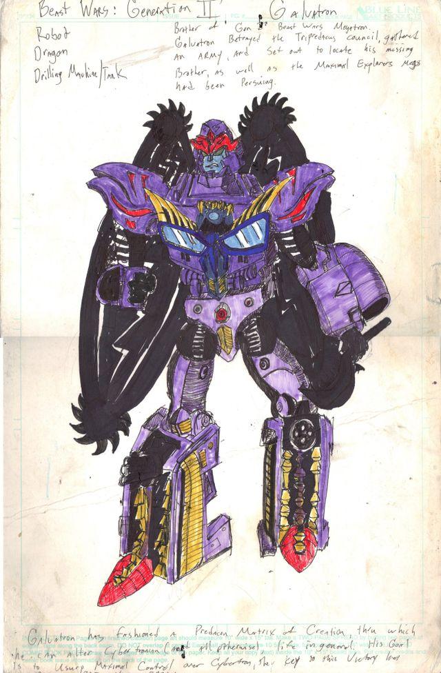 image: GALVATRON ROBOT MODE