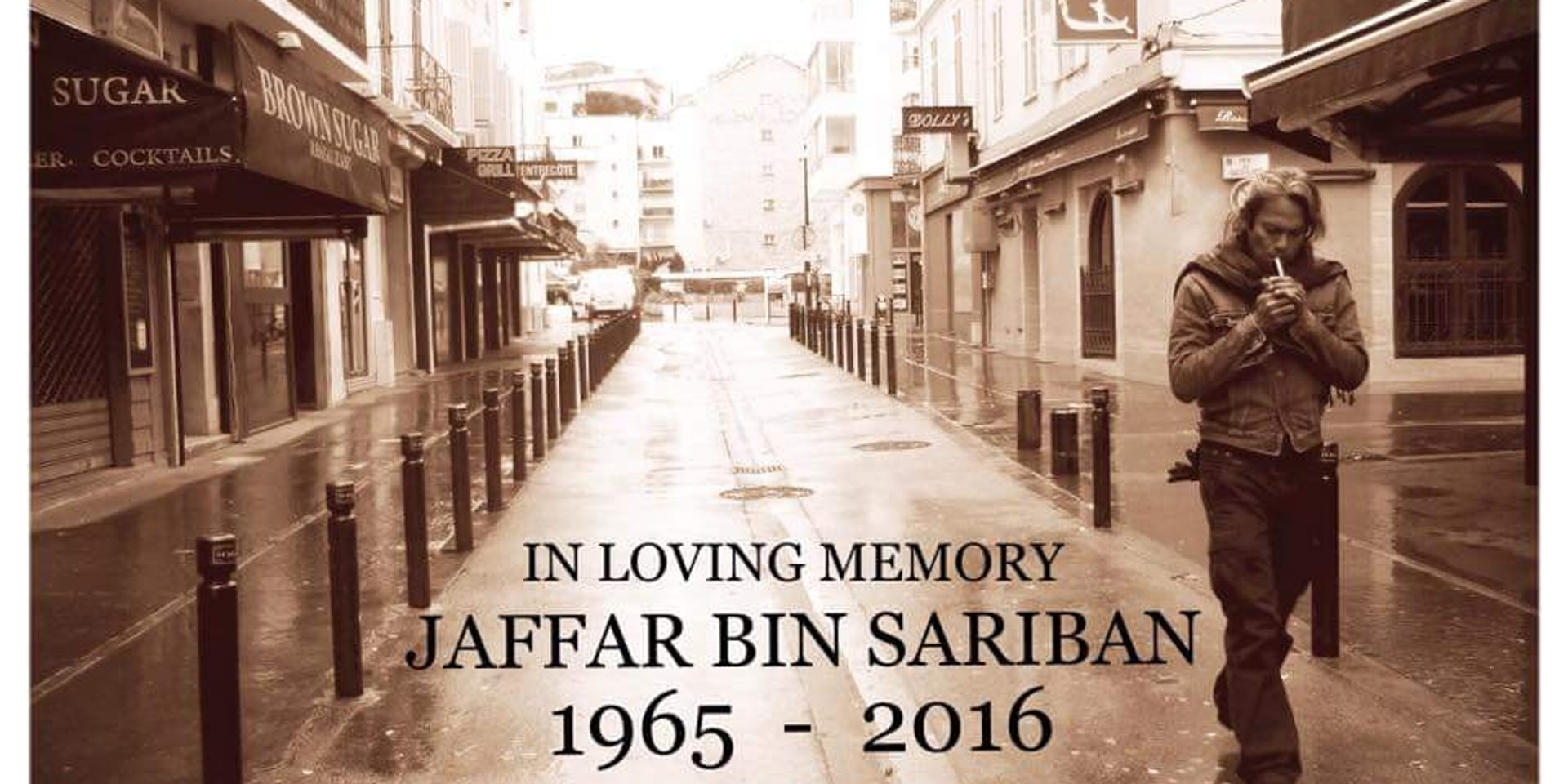Jaafar Sariban aka Sarong of Wicked Aura passes away after battle with cancer