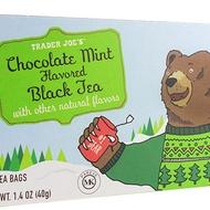 Chocolate Mint Black Tea from Trader Joe's