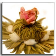 Jasmine Crown Blooming Tea from The Exotic Teapot