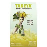 Fresh Green, iced tea. from Takeya Tea