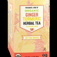 Organic Ginger Turmeric Herbal Tea from Trader Joe's