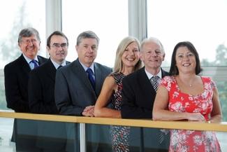 The ART Team - Steve Walker, Graham Donaldson, Martin Edmonds, Barbara Seaton, Andy King, Chris Allen-Lloyd