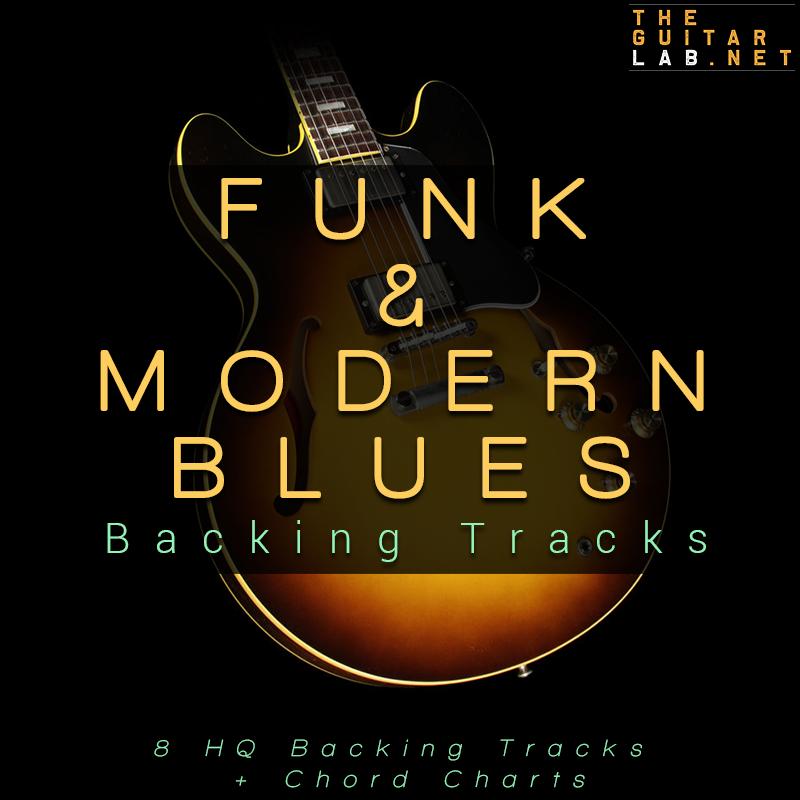 Funk & Modern Blues Guitar Backing