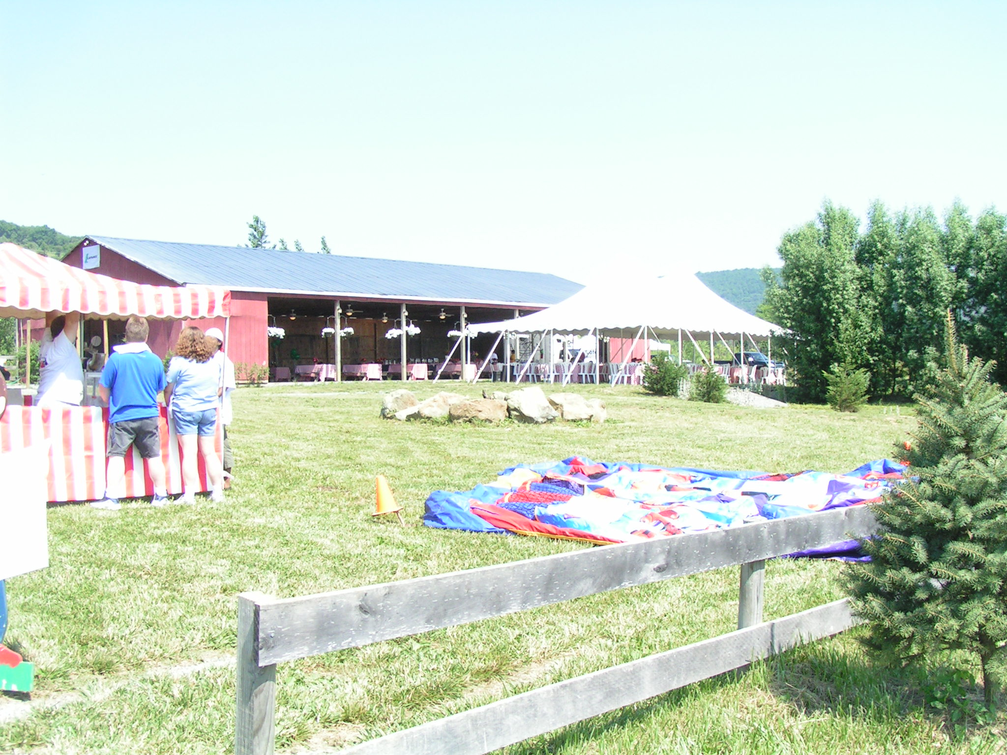 The Big Red Barn Picnic Site Venue For Rent In Bluemont