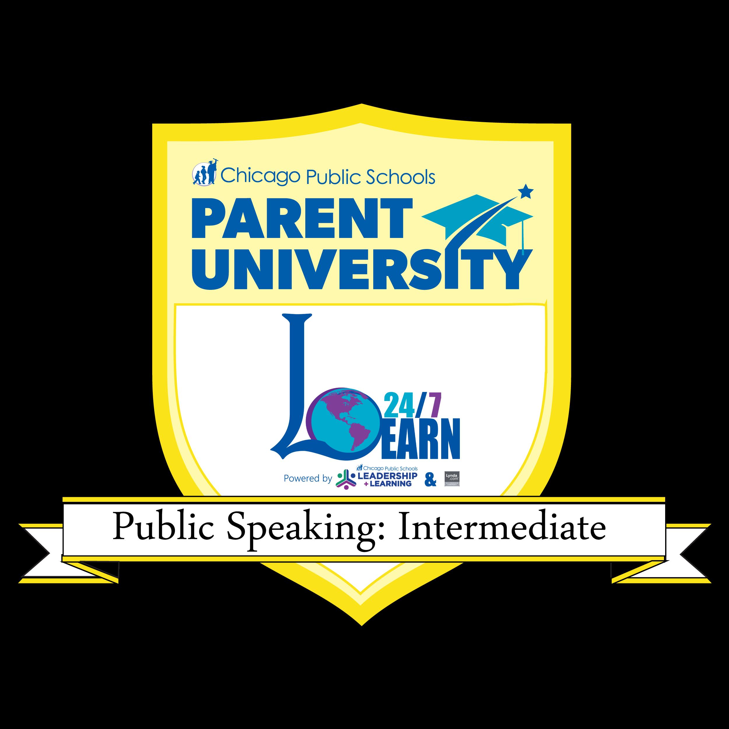 Public Speaking: Intermediate