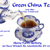 Green China Tea cut and sifted from Home Farm Herbery