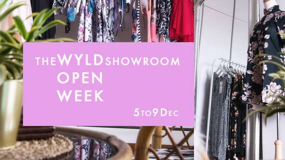 the WYLD Showroom Open Week  cover image | Singapore | Travelshopa