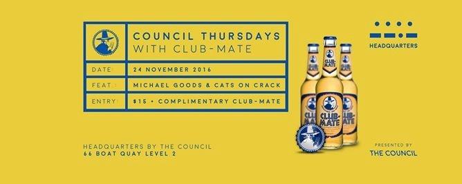 Council Thursdays with Club-Mate
