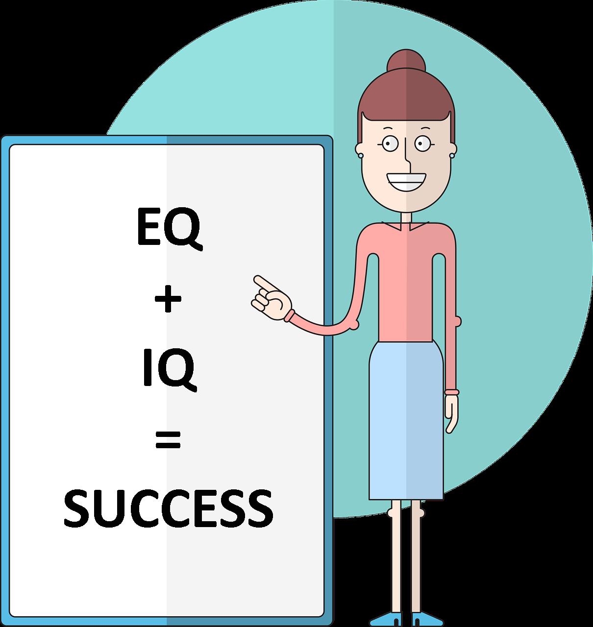 EQ + IQ = Success