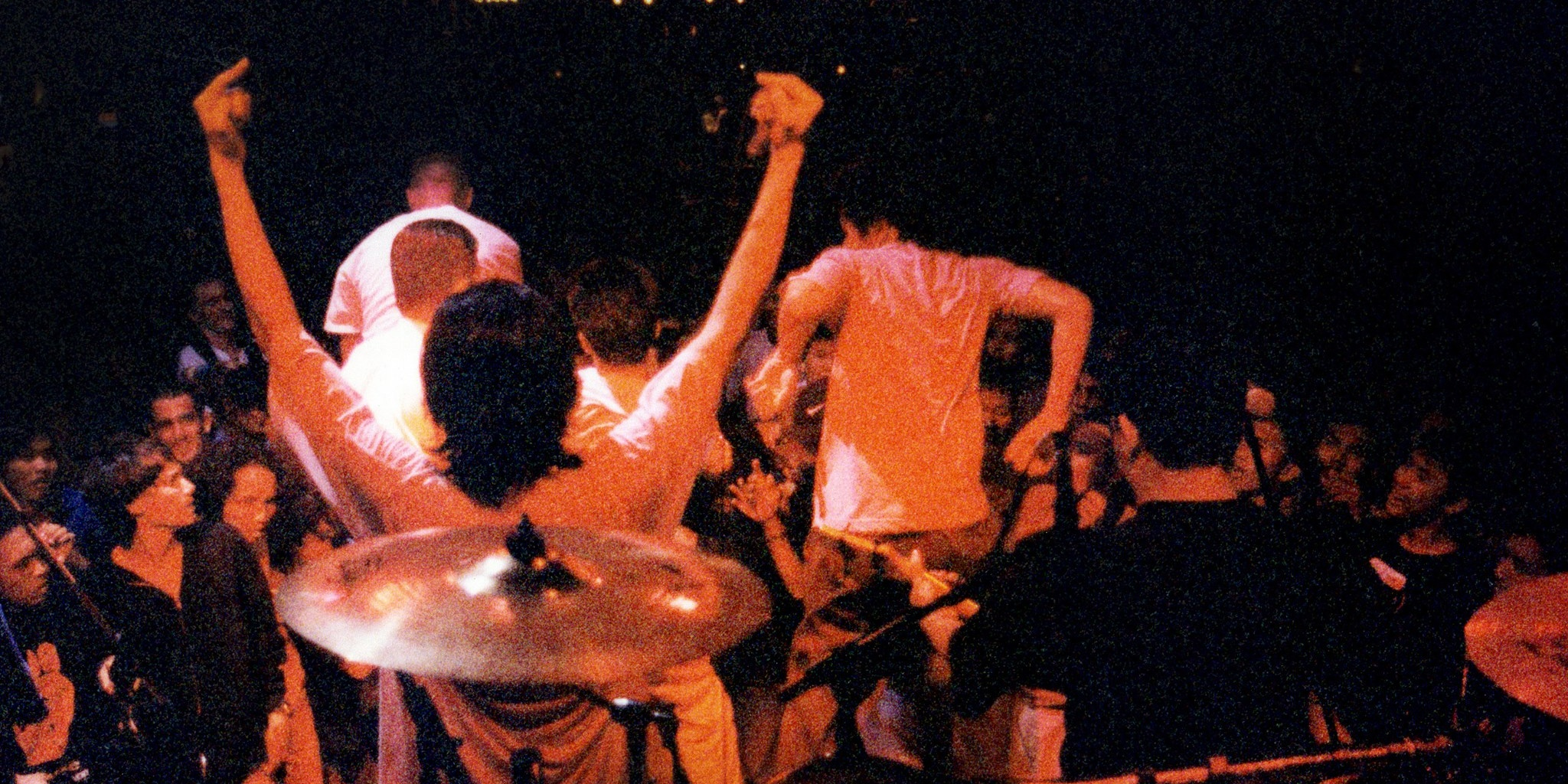 PHOTO GALLERY: Fugazi's frenzied second show in Singapore, 1996, with Stompin' Ground