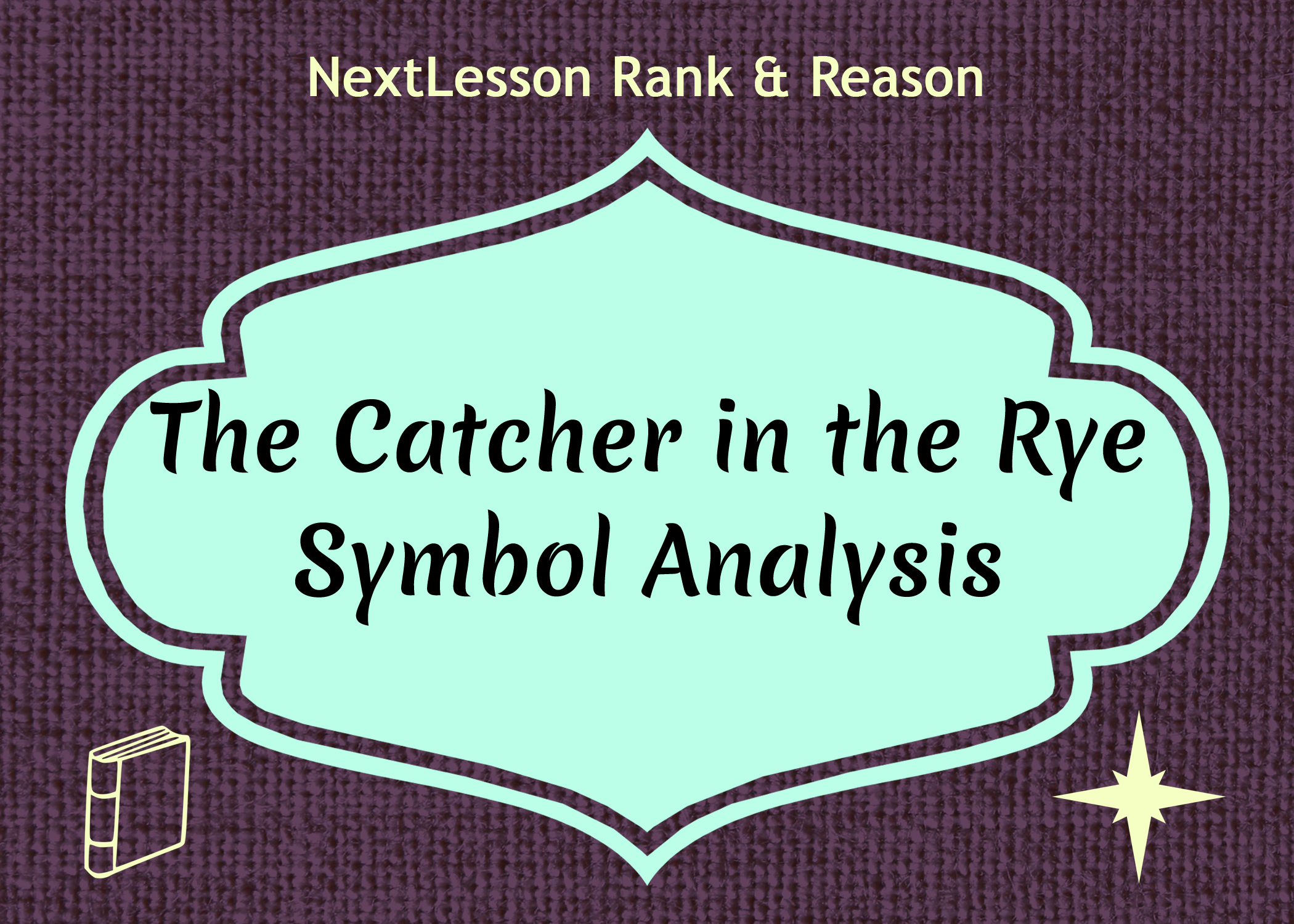 essay for catcher in the ryes Eng 3u1 – the catcher in the rye essay outline assignment task: pick one of the essay prompts below your answer to the prompt will be the thesis of your essay.