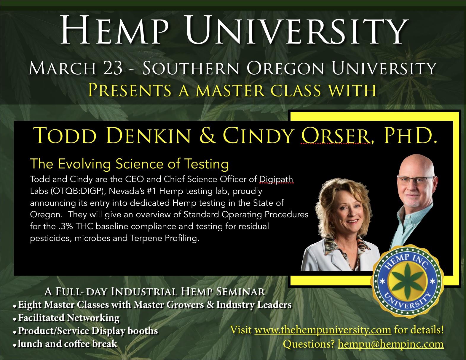 Todd Denkin & Cindy Orser