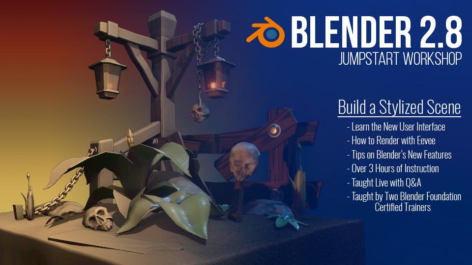 Blender 2 8 Jumpstart Workshop | The Orange Guild