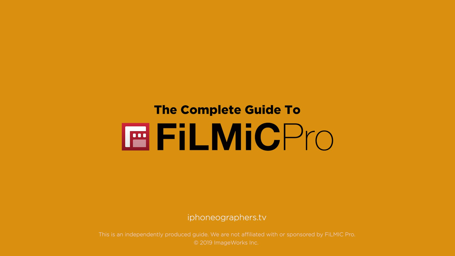 The Complete Guide To FiLMiC Pro | The Mobile Filmmaker Academy