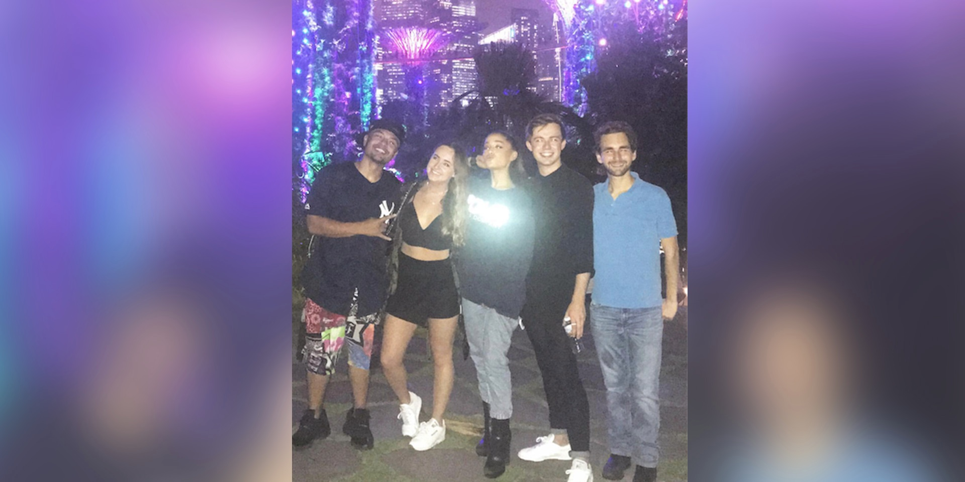 ariana grande was singing show tunes at gardens by the bay and no one noticed - Garden By The Bay Event