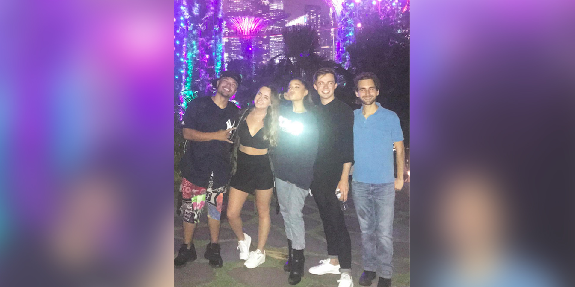 Ariana Grande Was Singing Show Tunes At Gardens By The Bay And No One  Noticed
