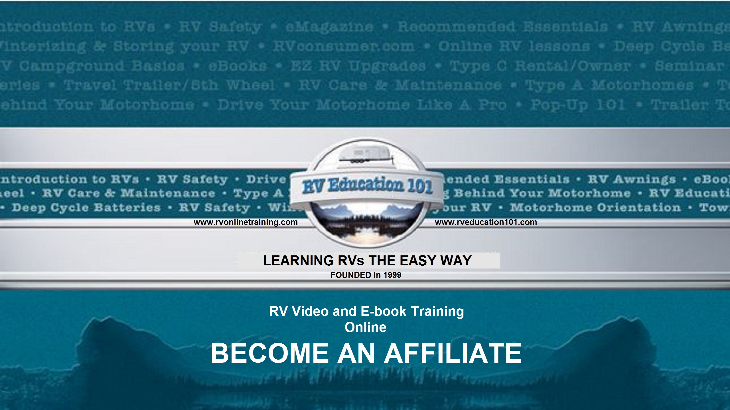 RV Education 101 Affiliate Program