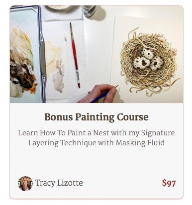 Bonus Painting Course