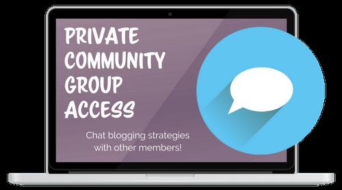 make money blogging community group