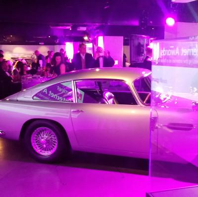 Bond in Motion Nominet Internet Awards 2014