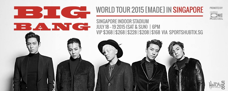 """BIGBANG """"MADE"""" Tour"""