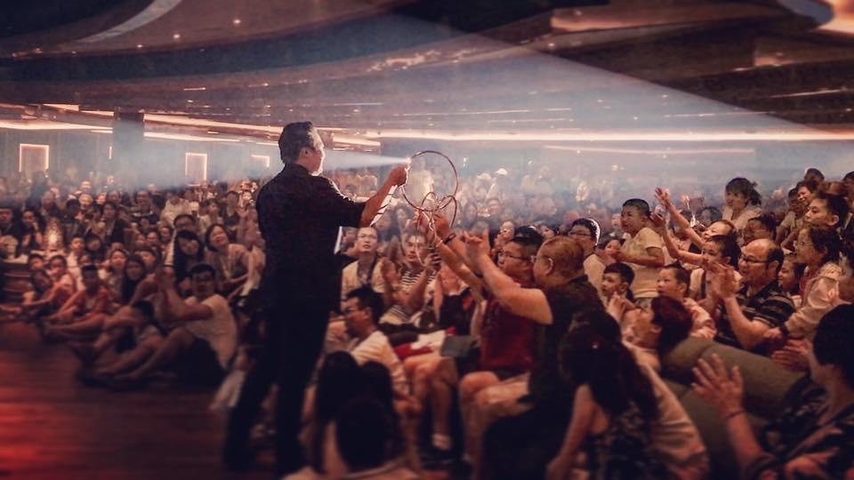 Jeremy Tan Cruise Ship Magician