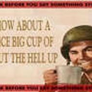 A Nice Cup of Shut the Hell Up from Custom-Adagio Teas