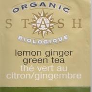 Organic Lemon Ginger Green from Stash Tea Company