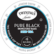 Pure Black Iced Tea K Cup from Twinings