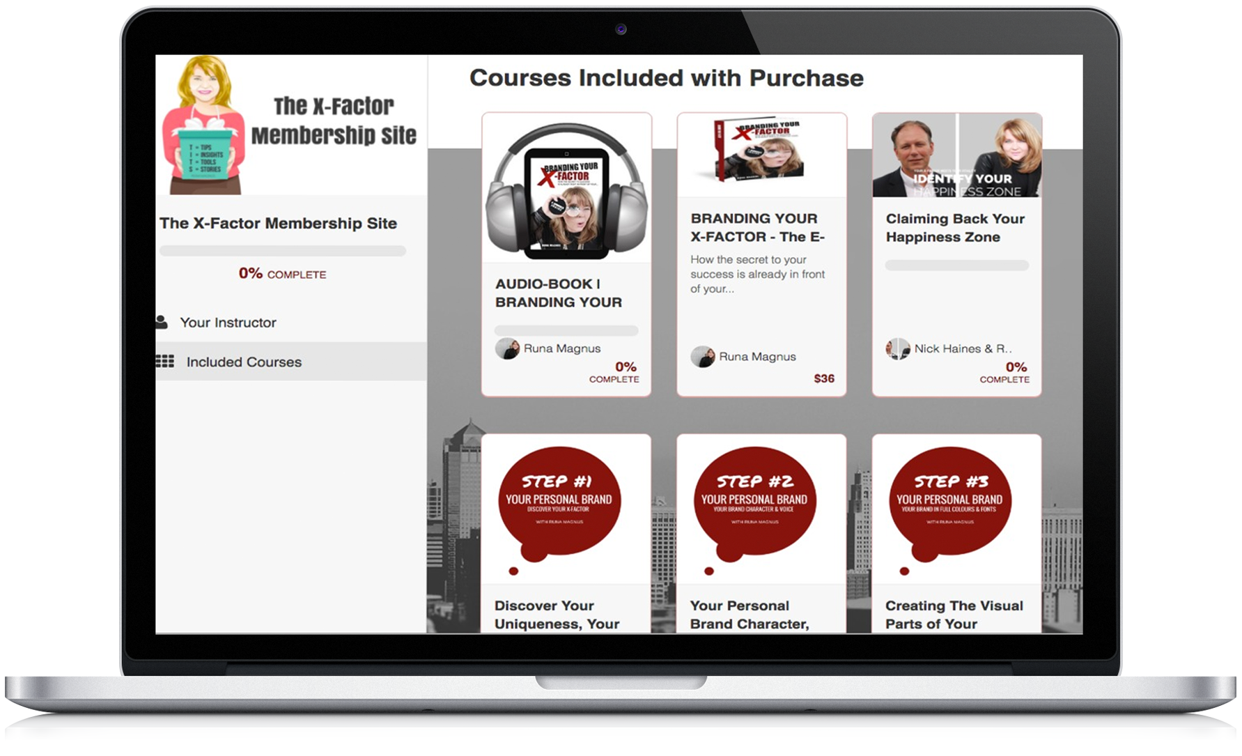 The X-Factor Membership Site | The Personal Branding Academy