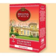 Strawberry with Cream - Fruit flavored Ceylon Black Tea from HYLEYS