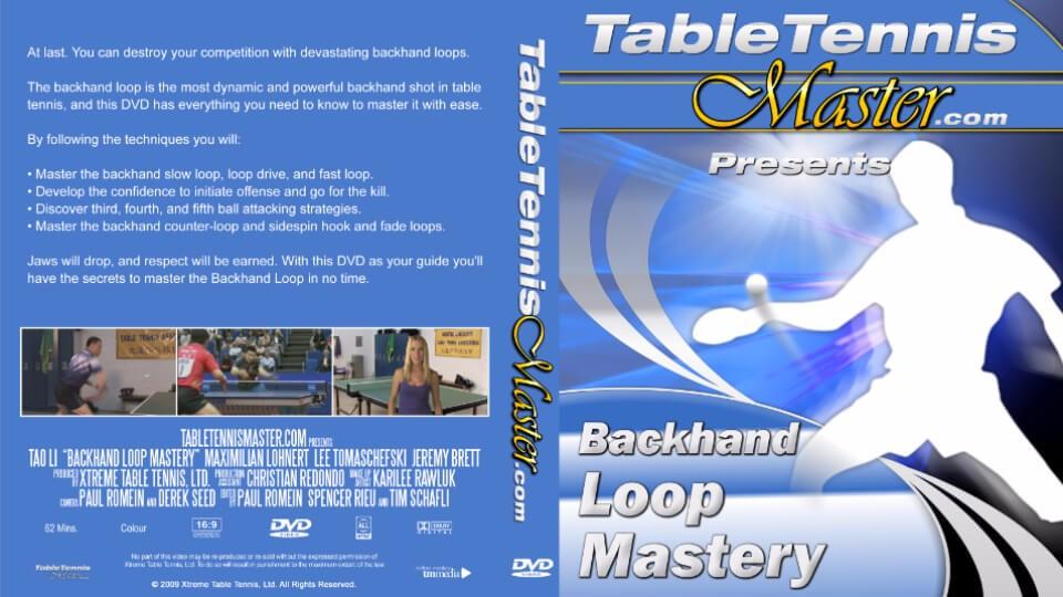 forehand loop mastery dvd