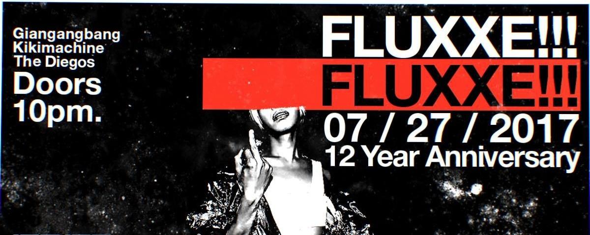Elephant: Fluxxe!!! - 12 Year Anniversary