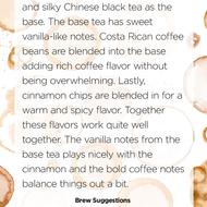 Spiced Coffee from Handmade Tea